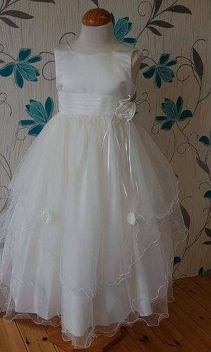 White Communion dress